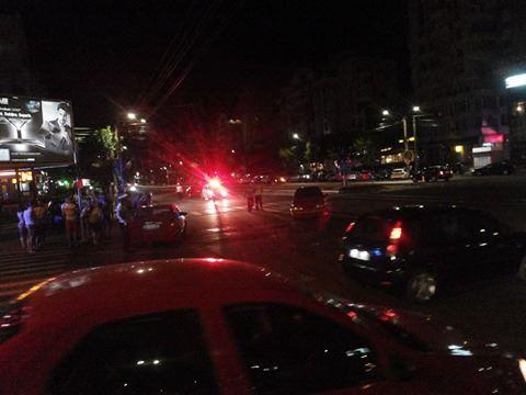 Doi copii au ajuns la spital în urma unui accident ce a avut loc în centrul Craiovei