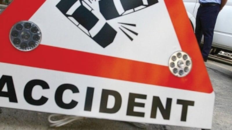 Accident rutier uşor în Craiova
