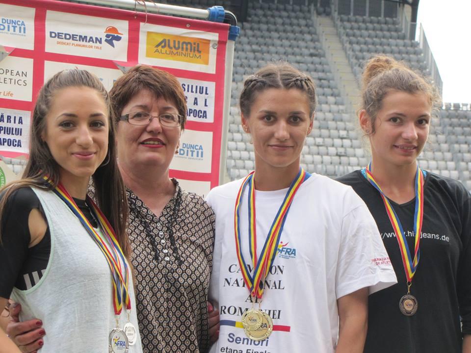Nouă titluri naţionale pentru atleţii cluburilor craiovene, la finalul întrecerilor de la Cluj-Napoca