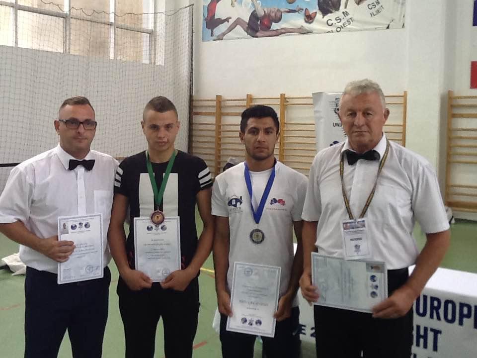 Strehăienii, medaliaţi la Europenele de Unifight