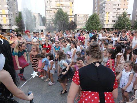 Copiii din Slatina, distracţie pe Esplanadă