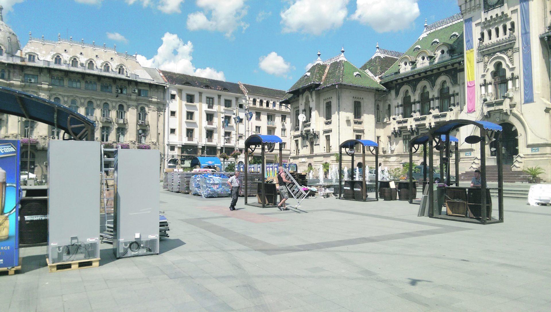 Consilierii Craiovei s-au asociat cu o firmă… în timp ce aceasta îşi pregătea evenimentul