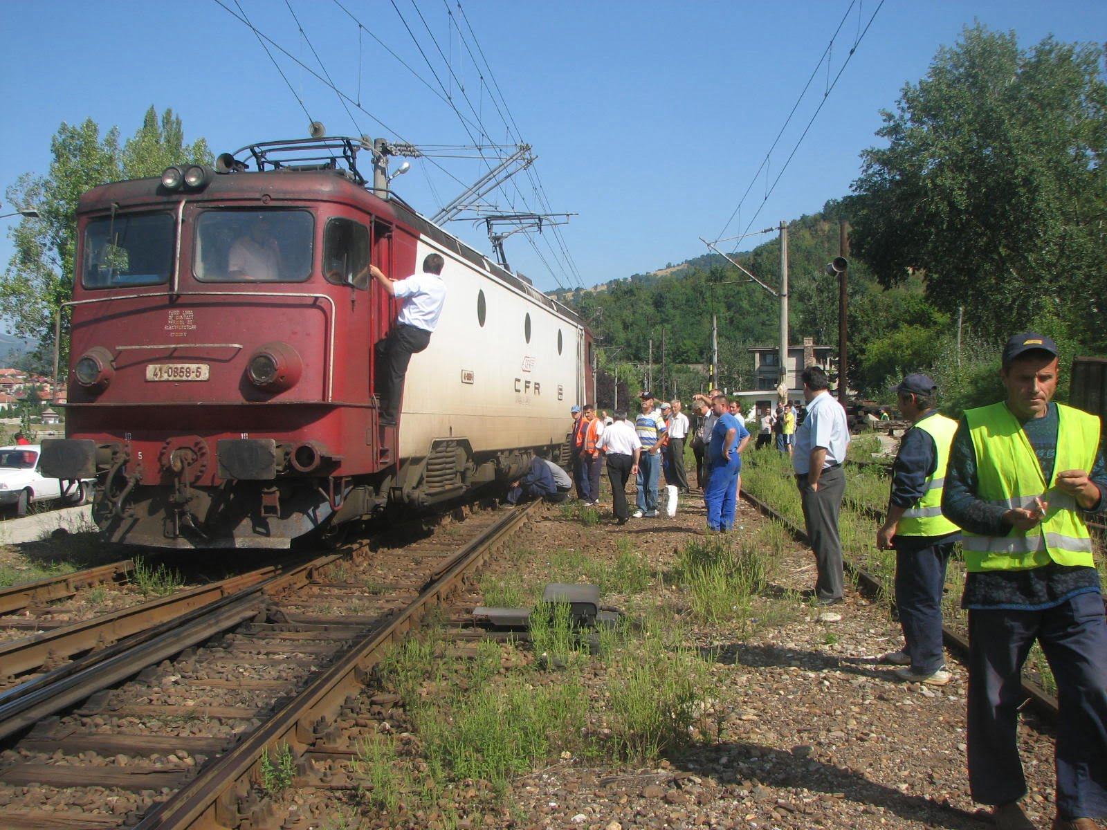 Accident feroviar mortal în zona Podari