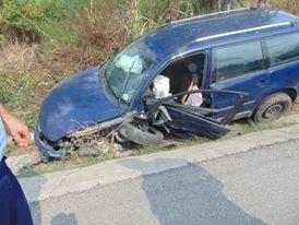 Accident cu două victime aproape de Almăj