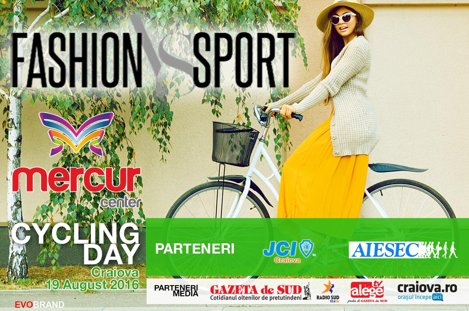 Mercur Center, AIESEC Craiova și JCI Craiova vă invită la Fashion vs Sport!