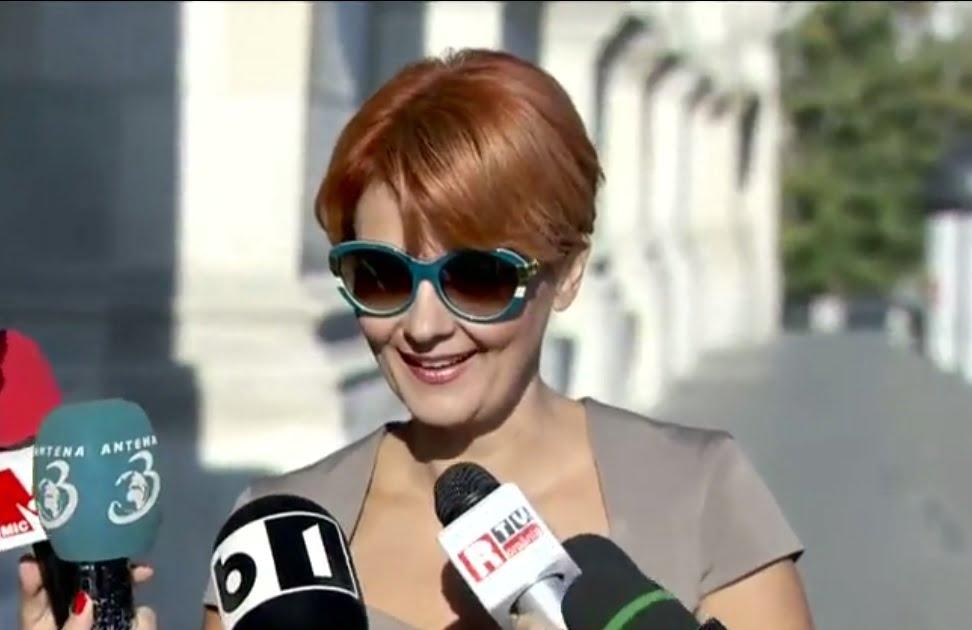 Olguţa Vasilescu îi face plângere penală lui Iohannis