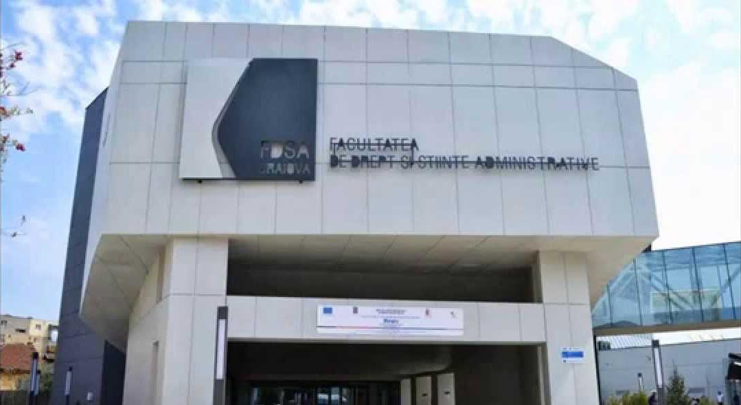 Parteneriat academic, Craiova – Chişinău,la Facultatea de Drept din cadrul Universităţii din Craiova