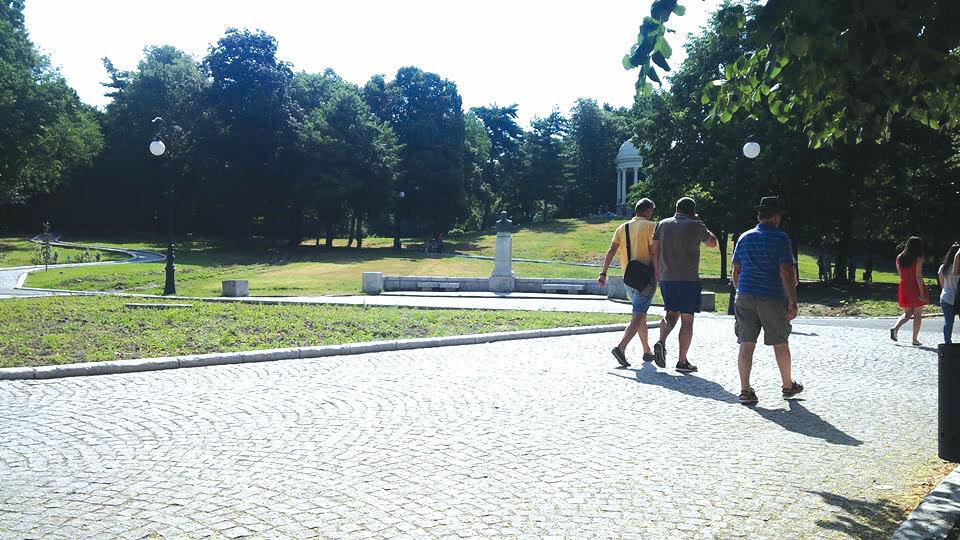 """Lucrările din Parcul """"Romanescu"""", aproape de final"""