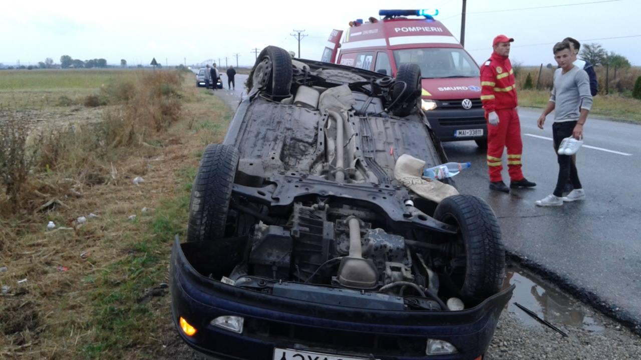 Accident cu două victime, pe E70
