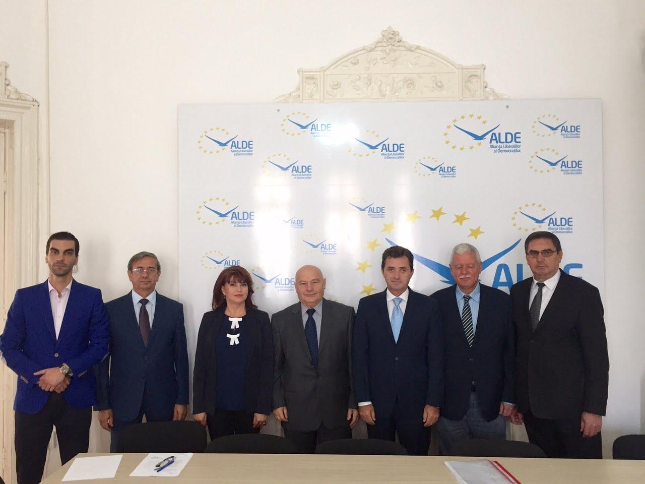ALDE Dolj şi-a stabilit candidaţii pentru parlamentare
