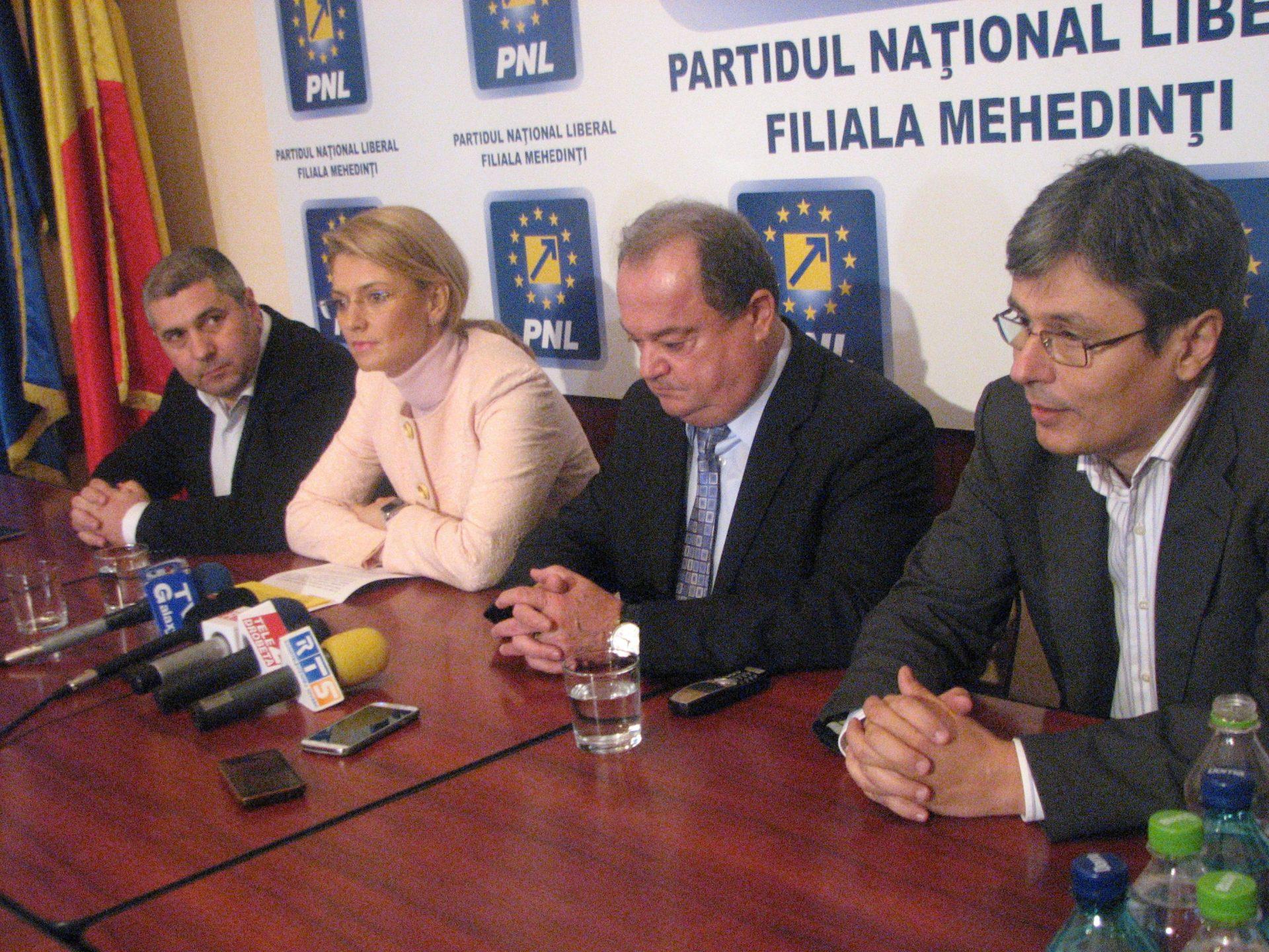 PNL Mehedinţi a stabilit candidaţii la parlamentare