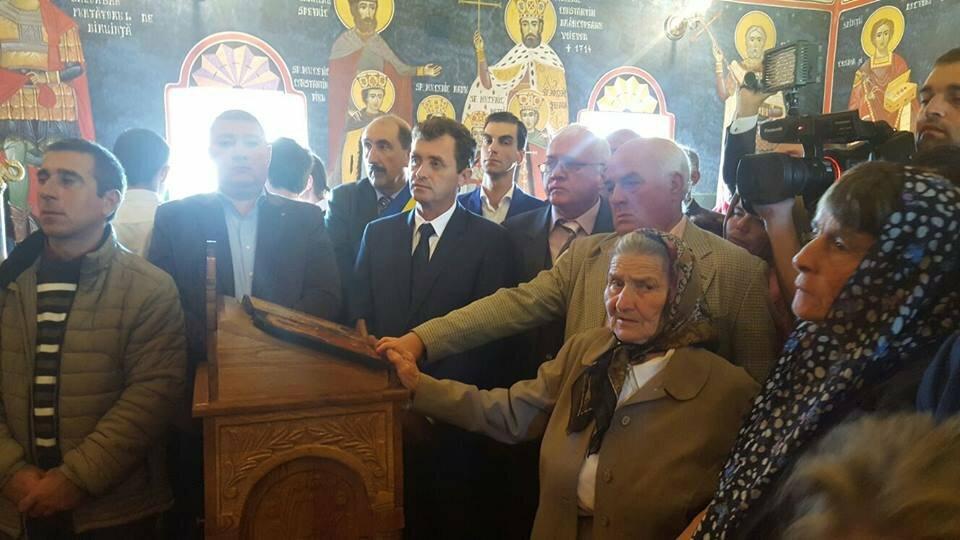 """Biserica """"Sfânta Cuvioasă Parascheva"""" din parohia Celei, resfinţită"""