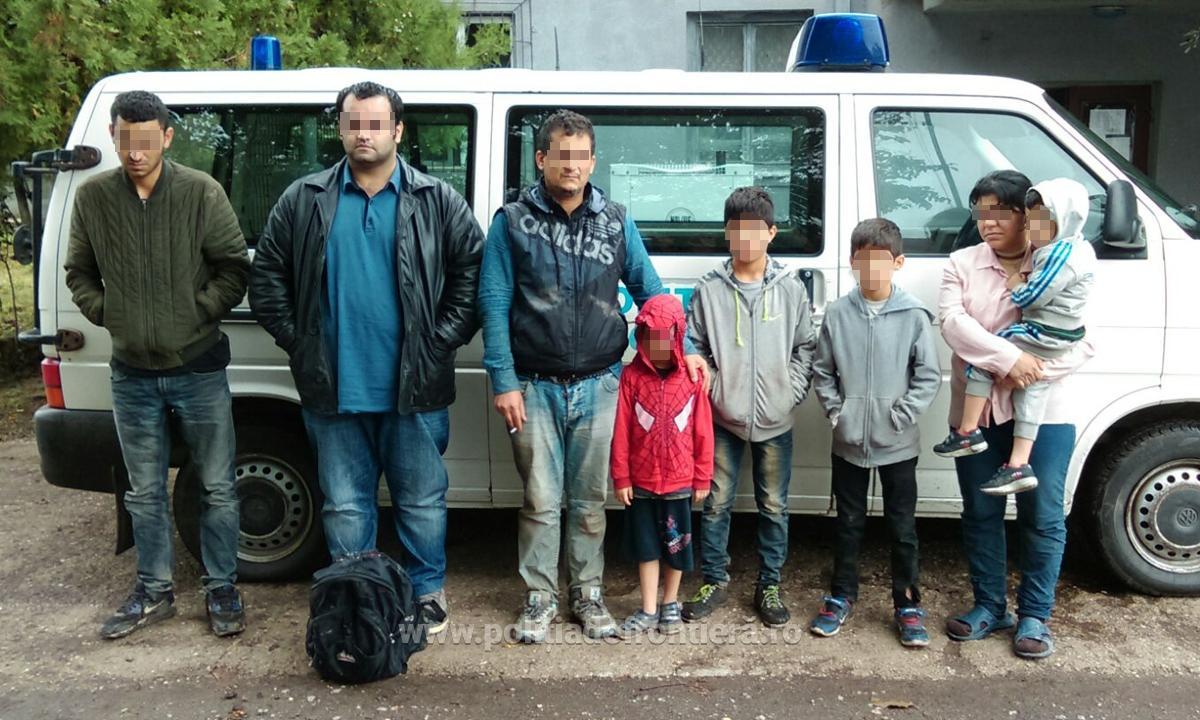 Imigranţi din Irak şi Siria, prinşi în Dolj