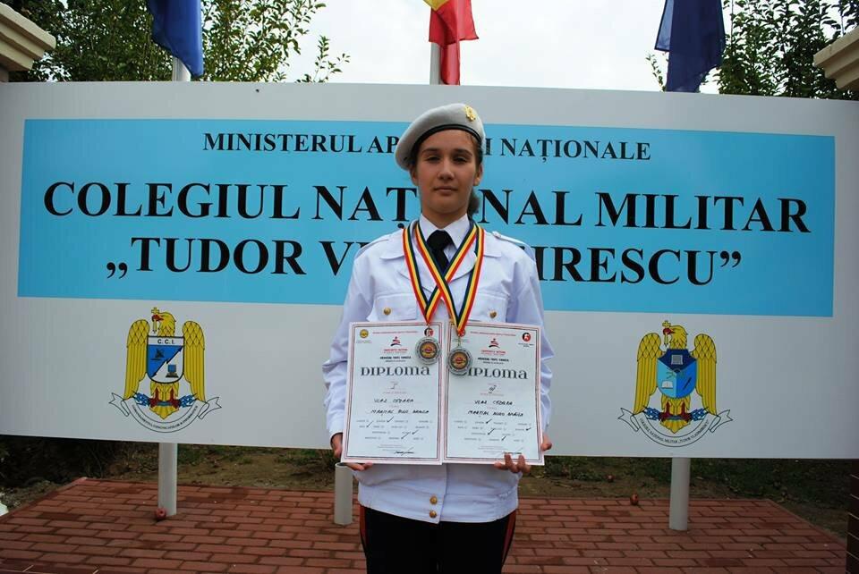Elevă de la Militar, campioană la Karate