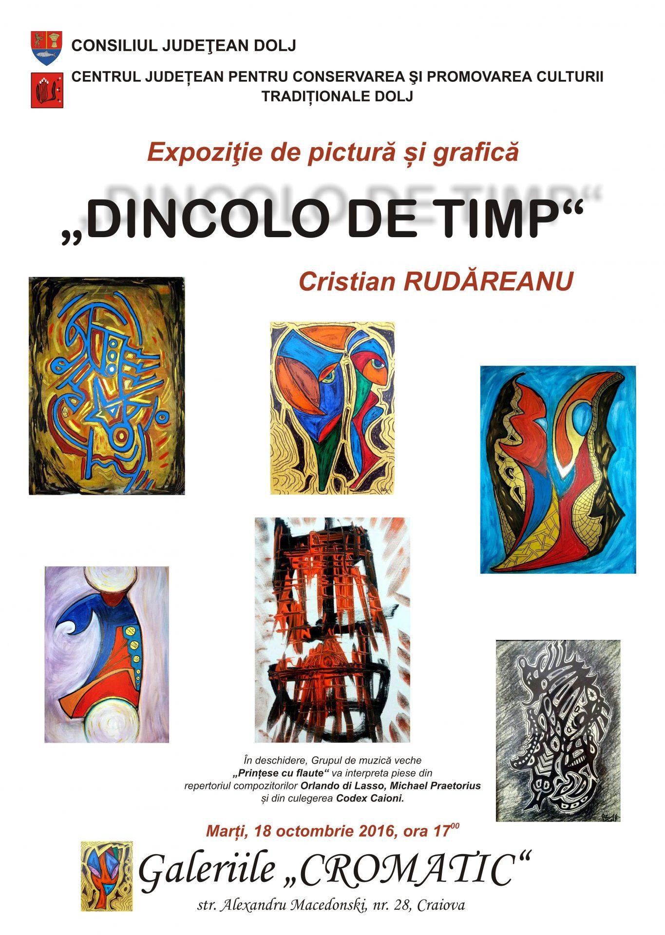 Expoziţie de pictură și grafică, la Galeriile Cromatic