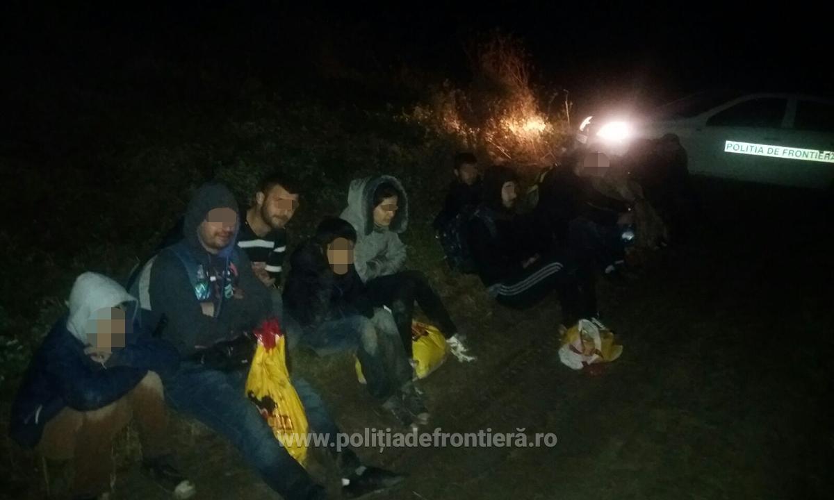 16 cetățeni irakieni, opriți la malul Dunării