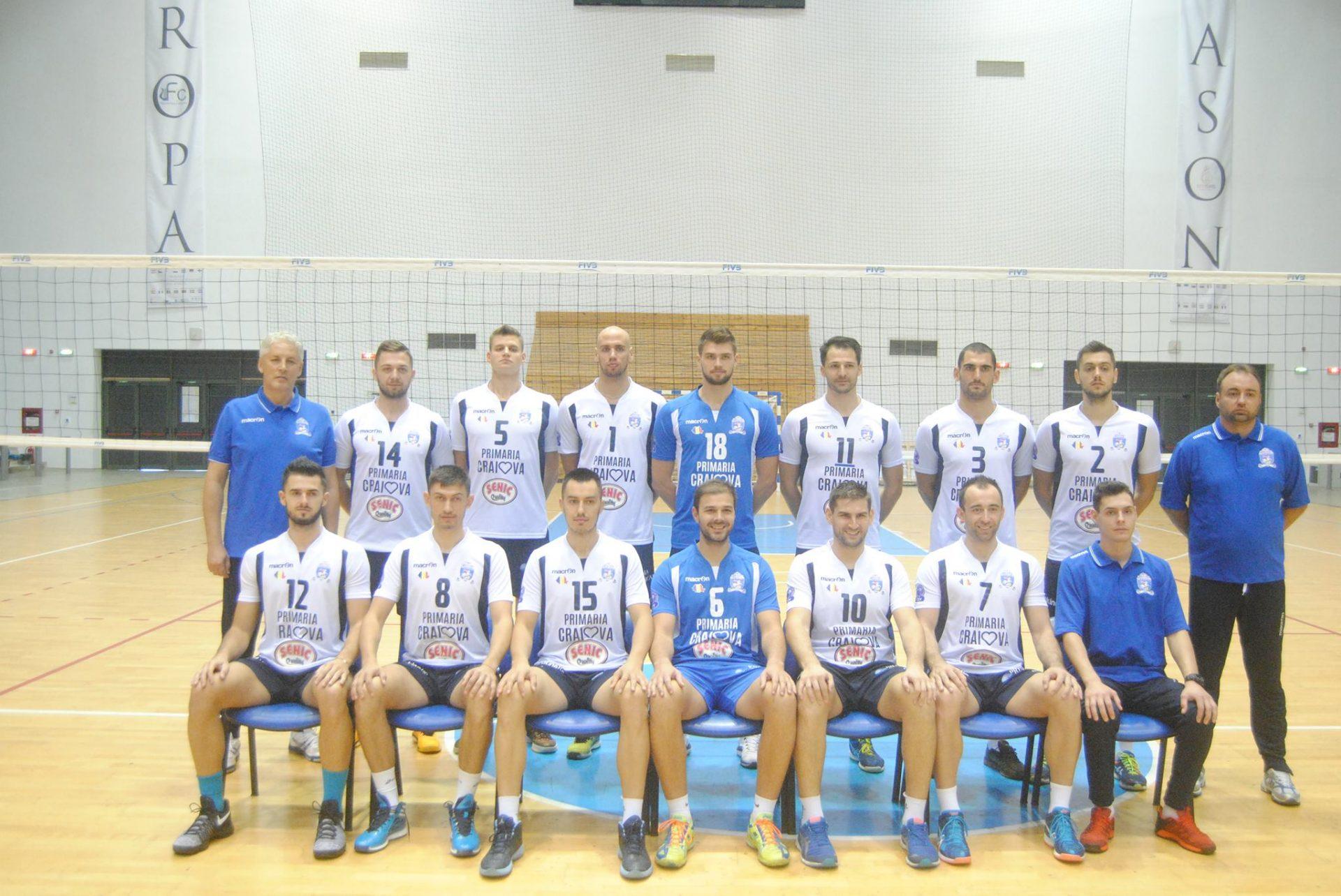 Echipele de volei ale SCM U Craiova încep campionatul