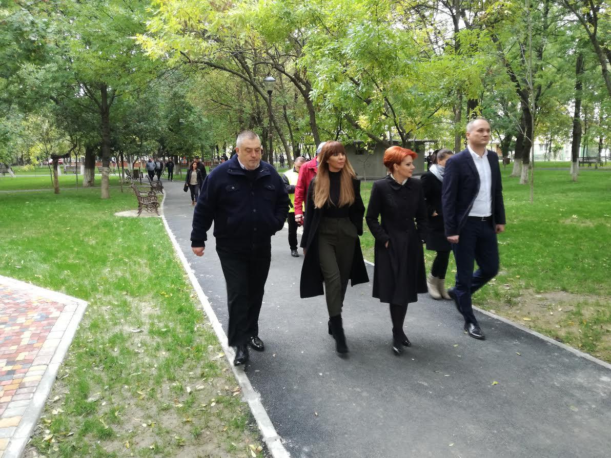 """Parcul """"Puşkin"""", reabilitat şi inaugurat"""