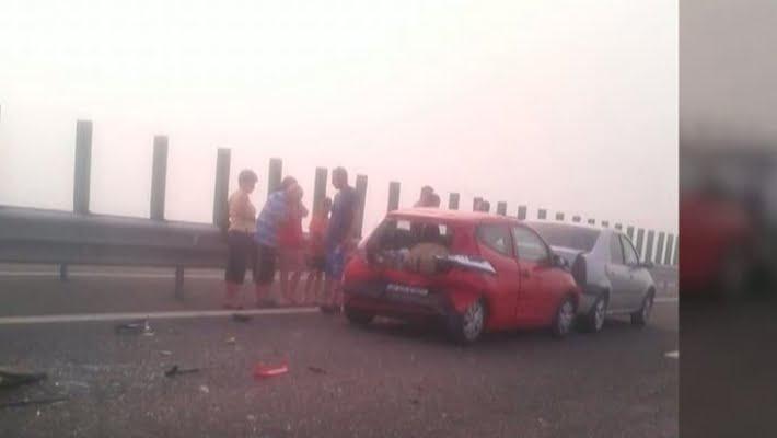 4 morţi şi zeci de răniţi, în accident pe A2