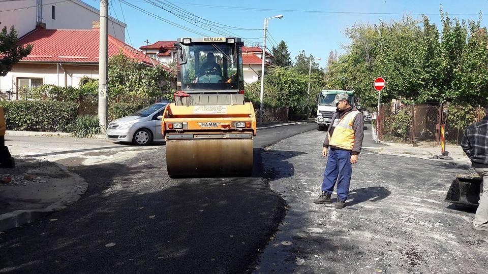 Continuă asfaltările în Craiova. Suprize în periferie