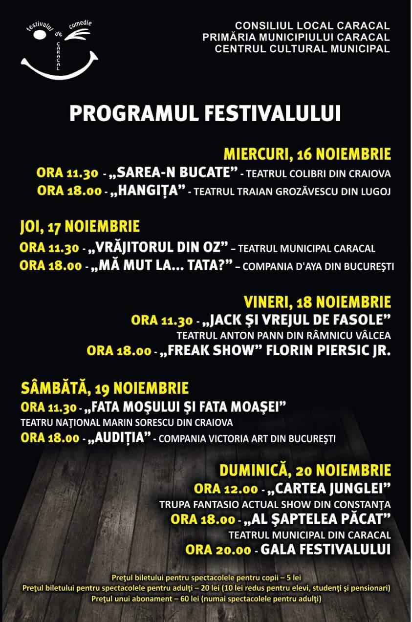 Festival de comedie la Caracal