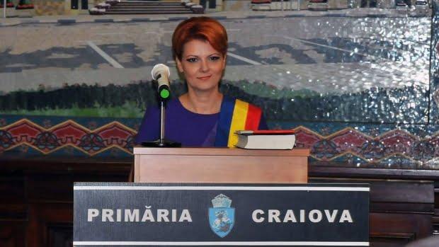 """Olguţa Vasilescu:  """"În proporţie de 99% vreau să candidez la Primăria Craiovei"""""""