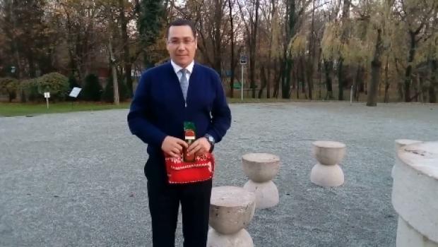După sandvişul lui Gorghiu, salamul lui Ponta