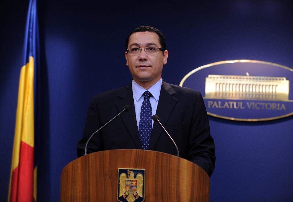 Ponta propune trei nume de premier cu care să meargă la Iohannis