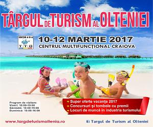 A doua ediție a Târgului de Turism al Olteniei, în martie, la Craiova