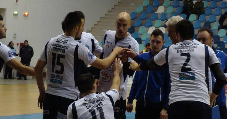 Învinşi în Cupă, voleibaliştii craioveni sunt optimişti pentru meciurile cu CSM Bucureşti şi Azimut Modena