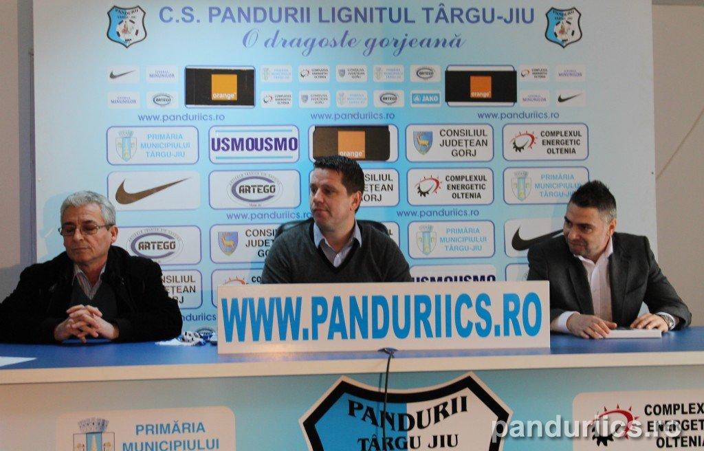 Flavius Stoican, prezentat oficial la Pandurii