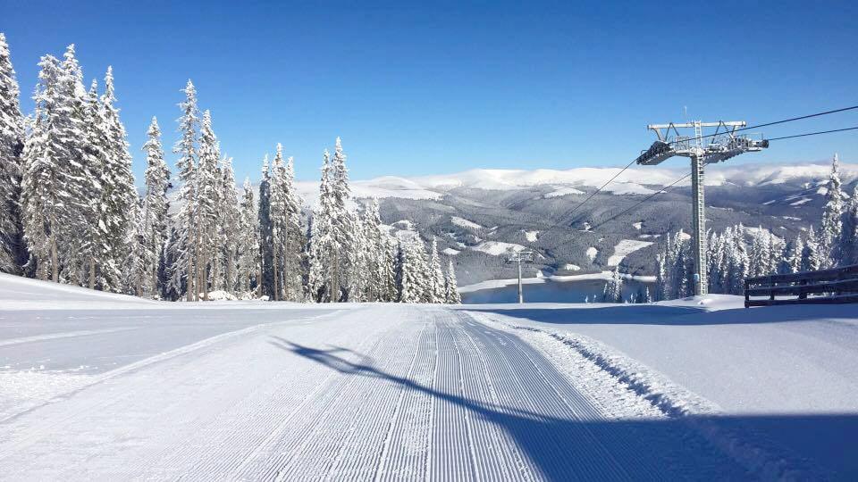 Pârtia de schi de la Voineasa, redeschisă