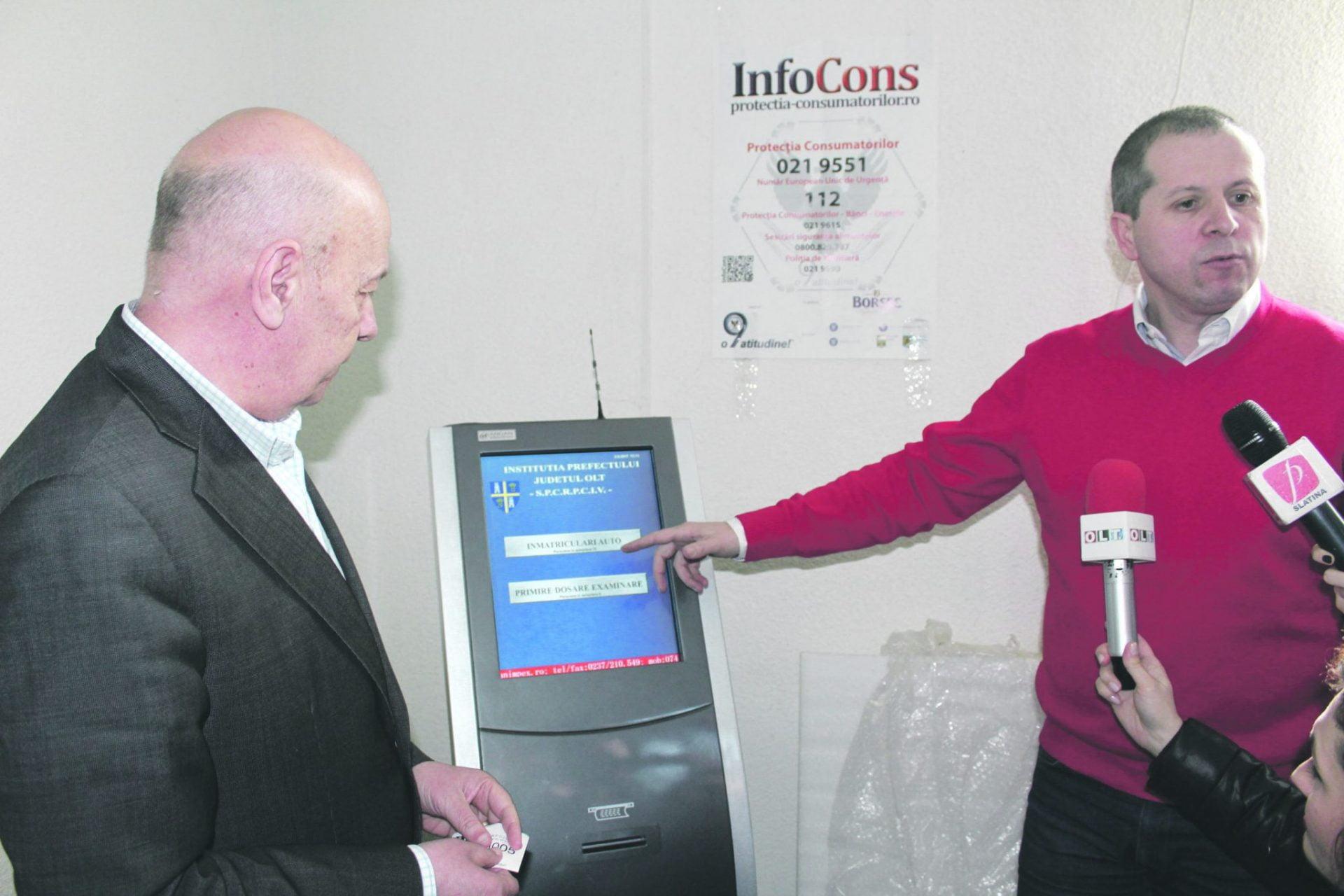 Sistem electronic de programări la Serviciul de Înmatriculări şi Permise Olt. Se pregăteşte programarea online