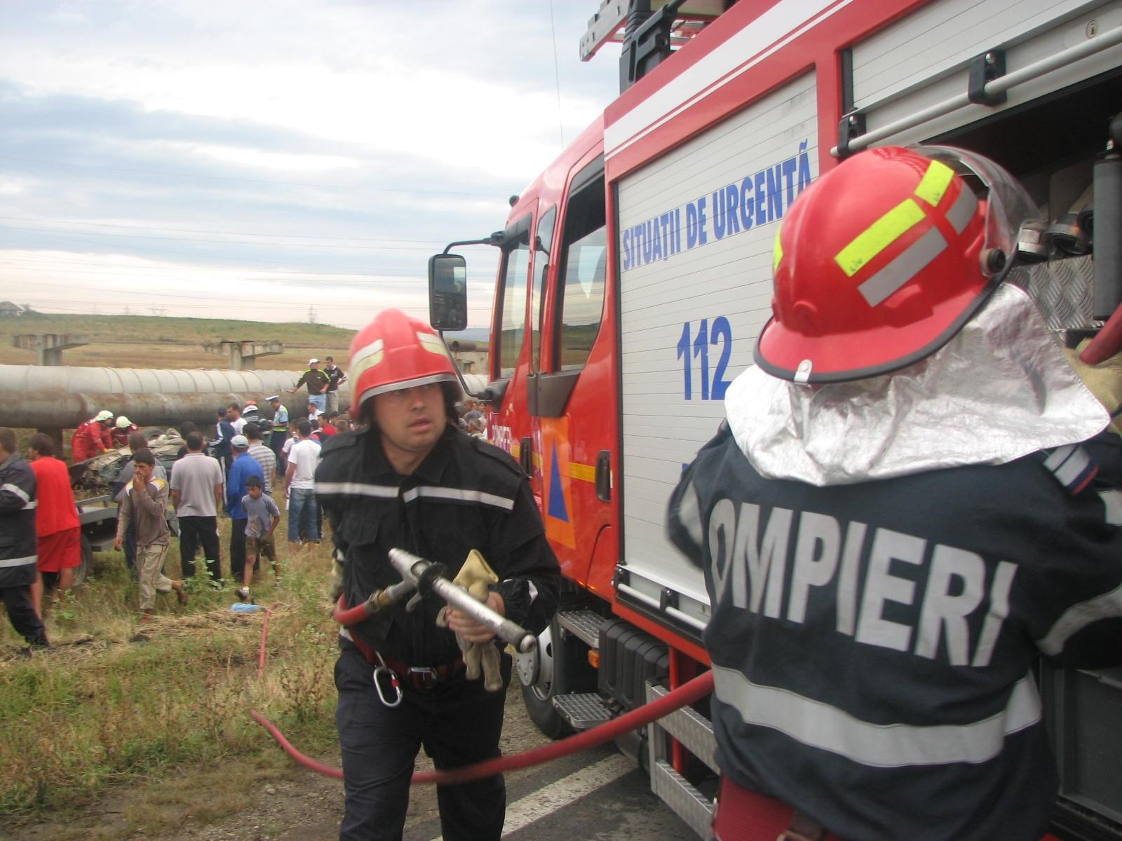 Pompierii mehedințeni în misiune