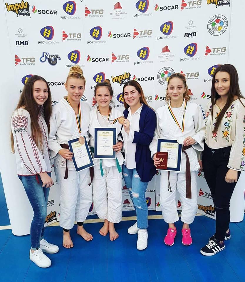 JUDO/Șase medalii pentru olteni la naționalele de tineret