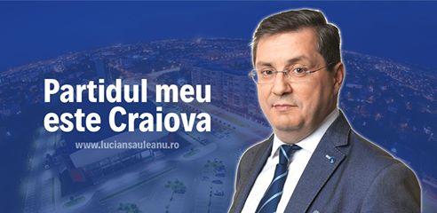 Lucian Săuleanu: Partidul meu este Craiova
