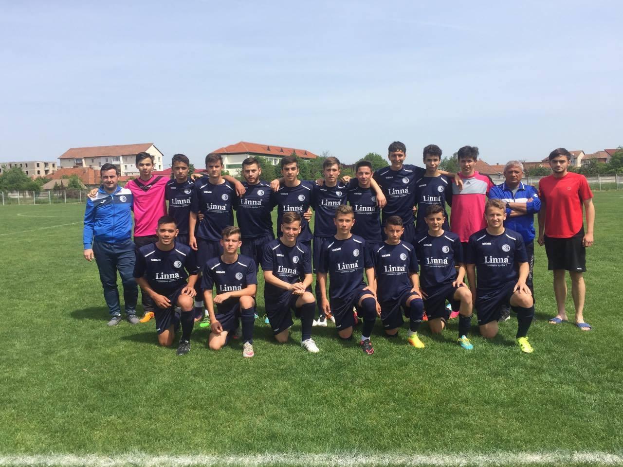 Juniori U17/ Au încheiet sezonul în obiectiv
