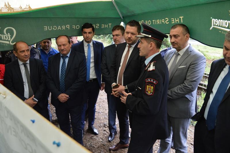 Secretari de stat și directori regionali, invitații prefectului de Mehedinți