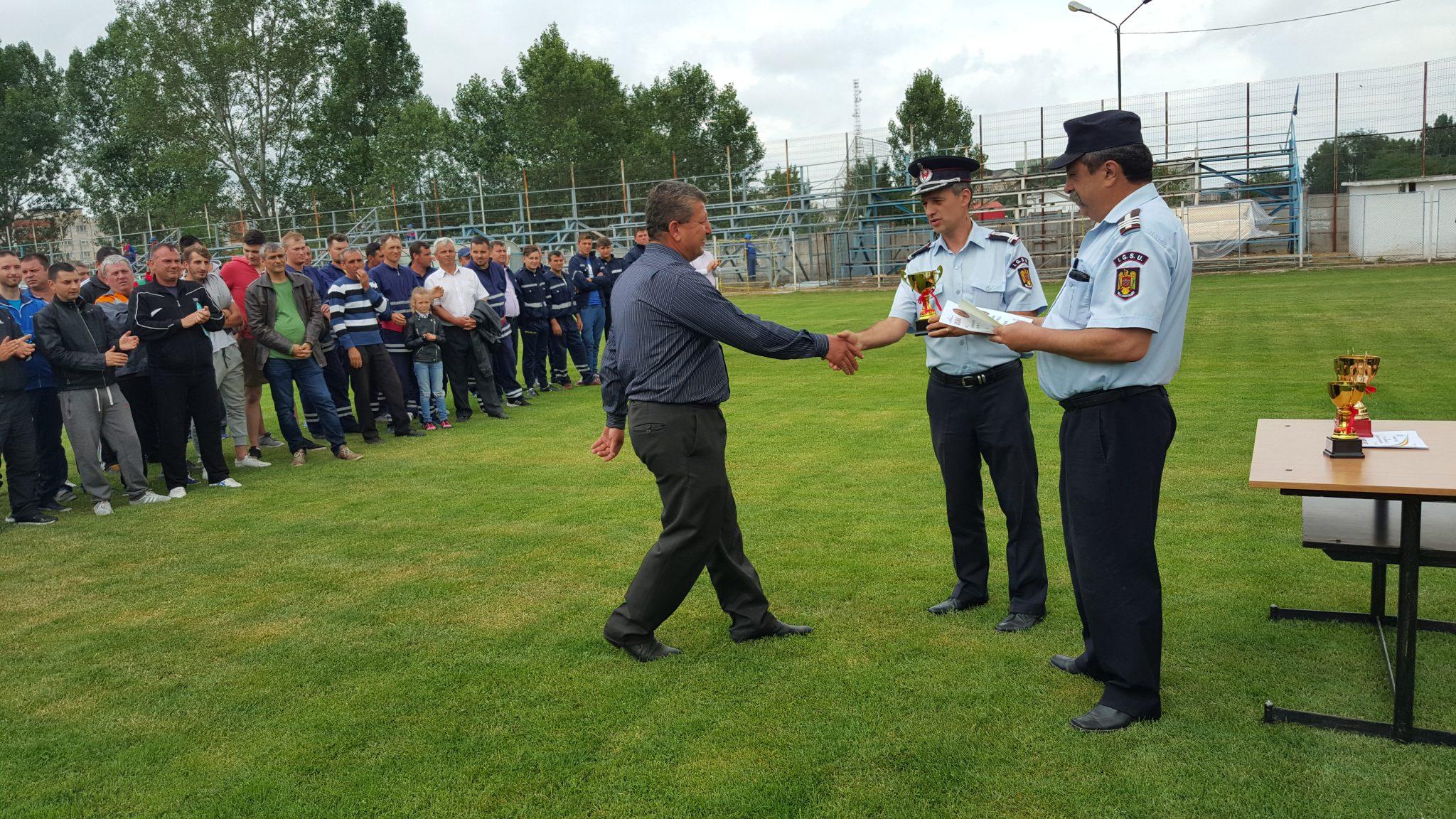 Concurs între pompierii civili