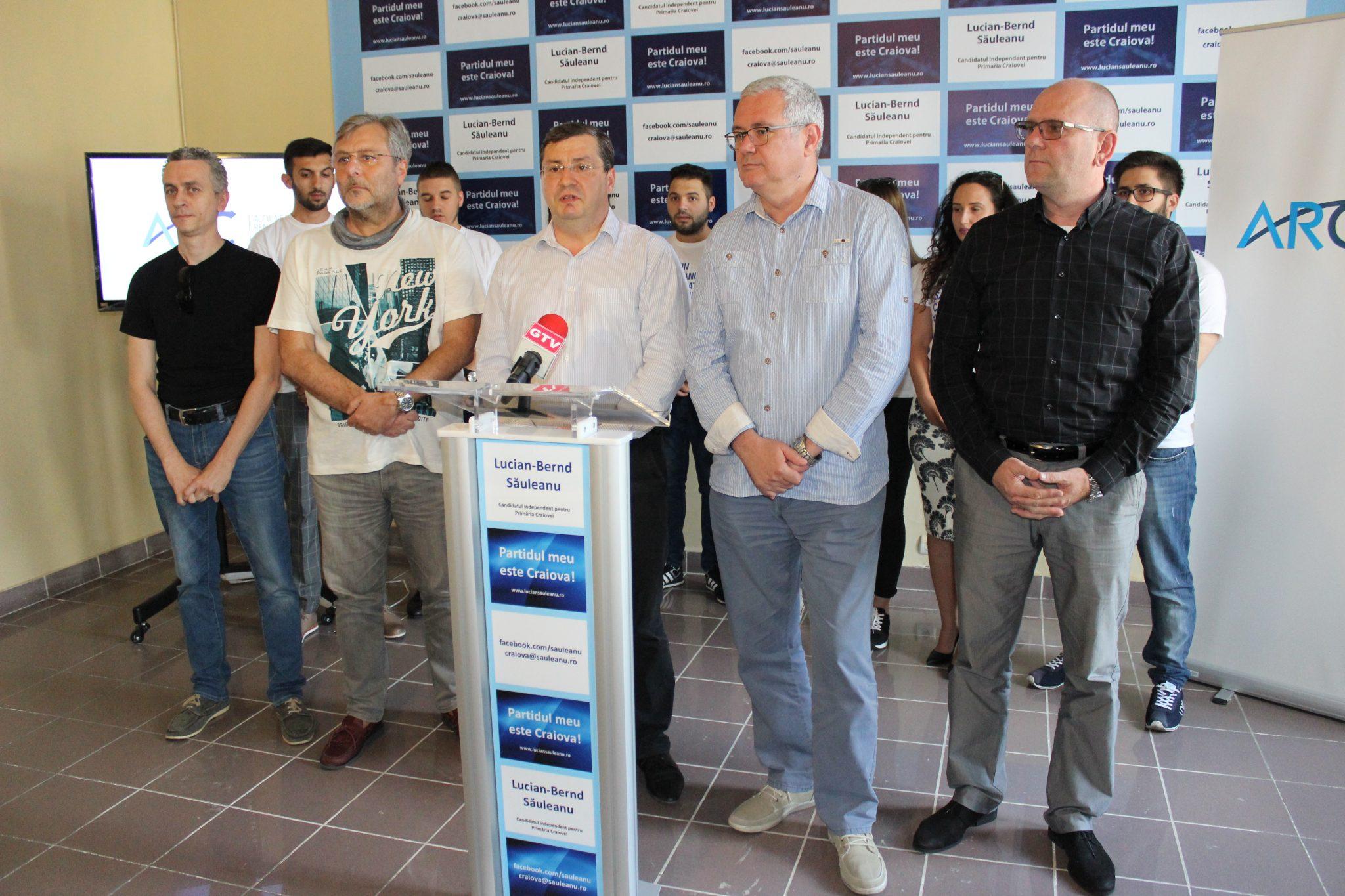 Lucian Săuleanu anunță înființarea ARC