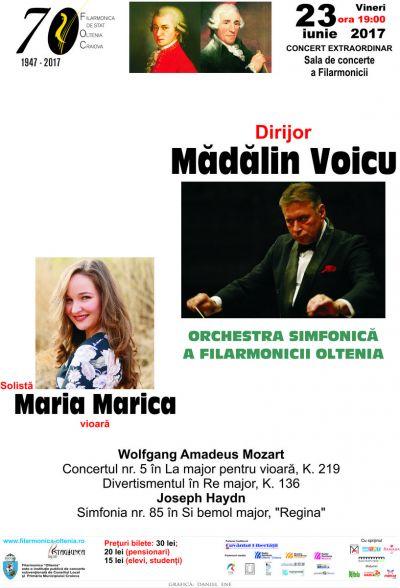 """""""Great Classical Composers"""", la Filarmonica """"Oltenia"""""""