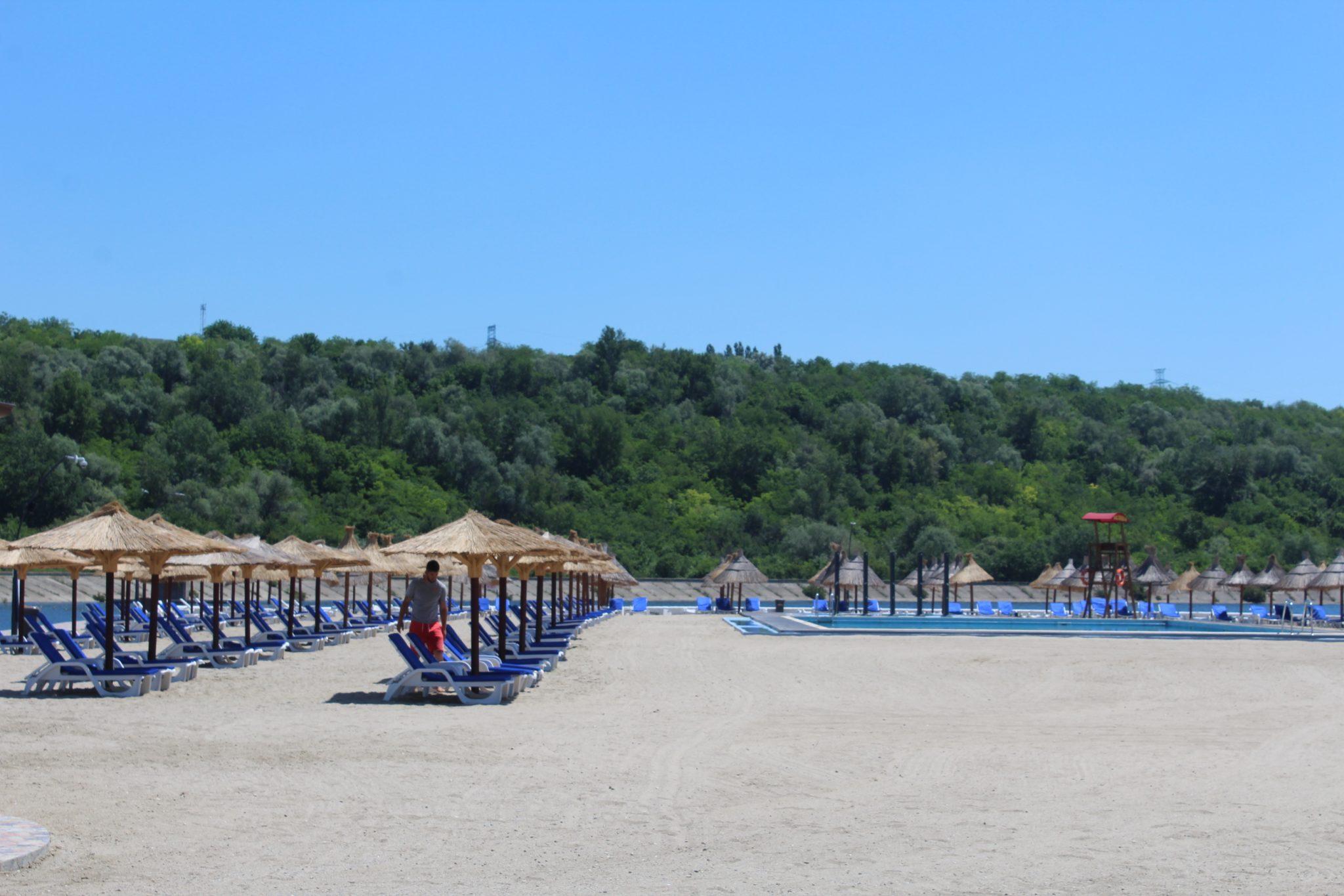 Chioşcul de la plaja Olt, la licitaţie