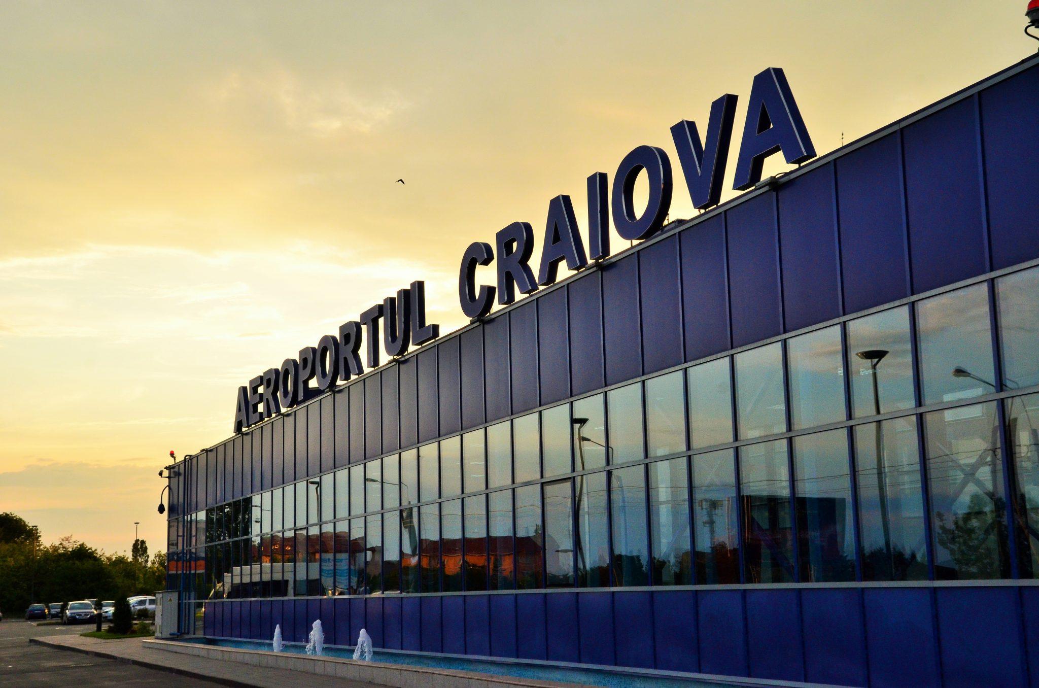 Coronavirus în Oltenia. Aeroportul Craiova sub lupă