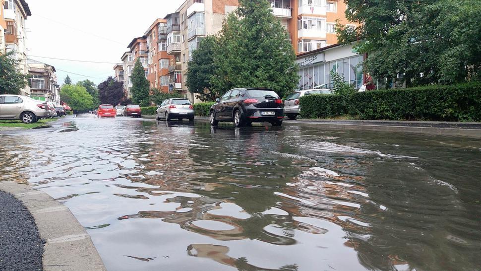 Probleme, în Gorj, după ploaia de miercuri
