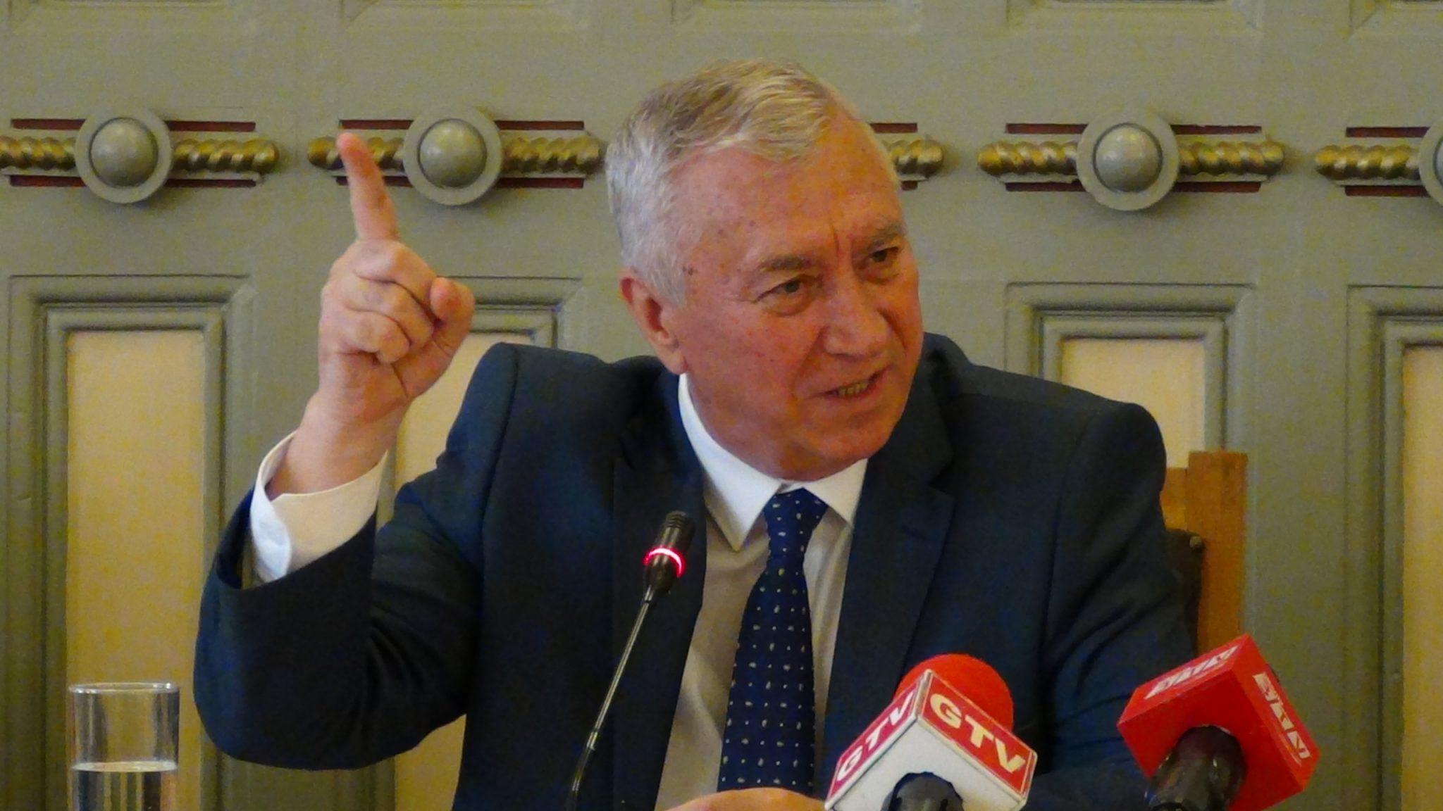 Ion Prioteasa, la raport, în prima şedinţă a Consiliului Judeţean din acest an