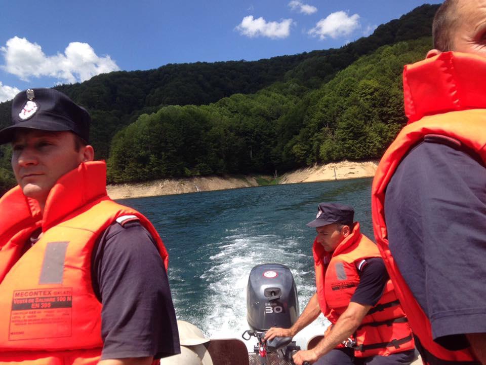 Mehedinți: Bărbat înghițit de Dunăre la Vrancea, căutat de pompieri