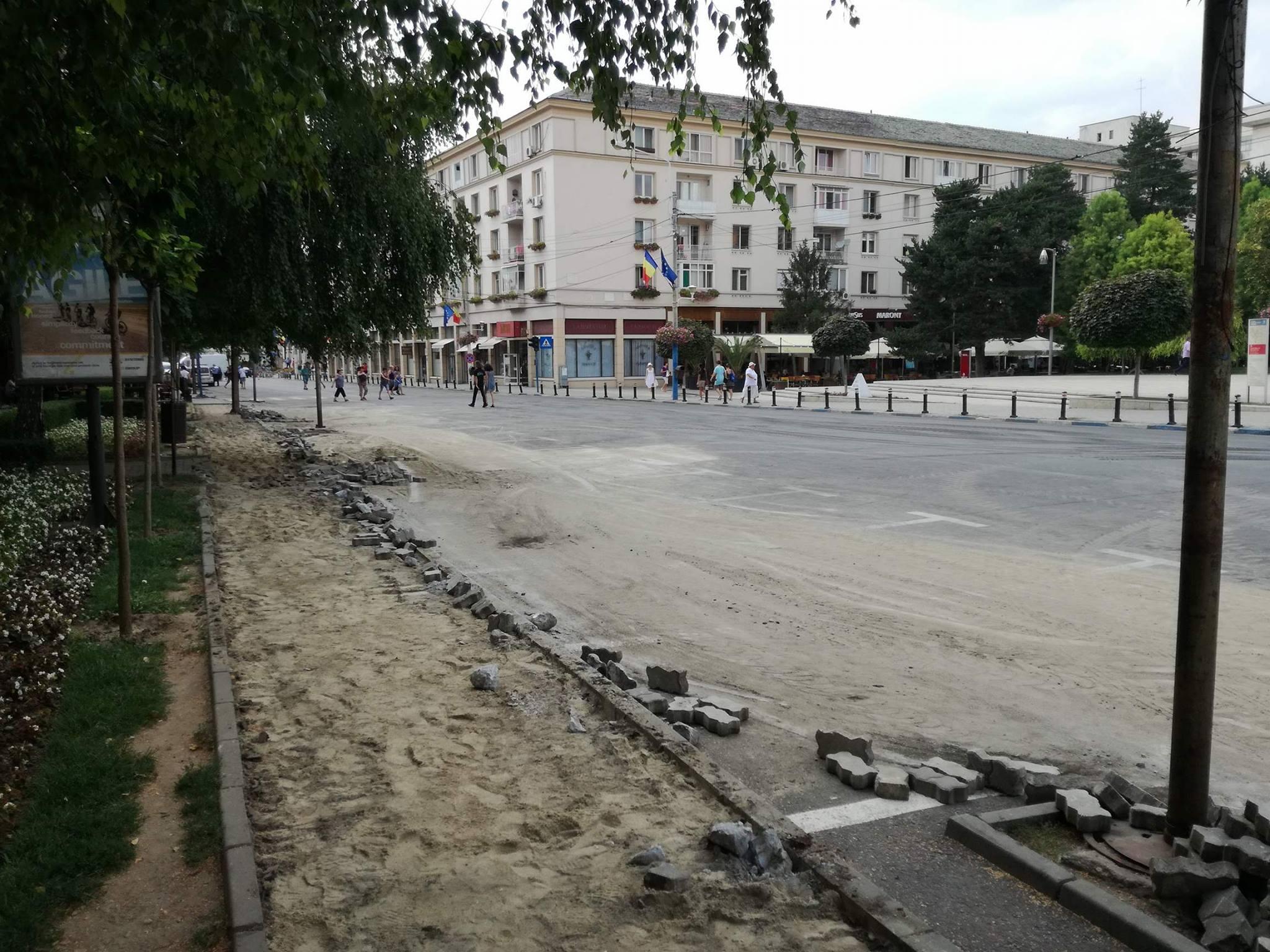 Restricții de trafic în centrul Craiovei