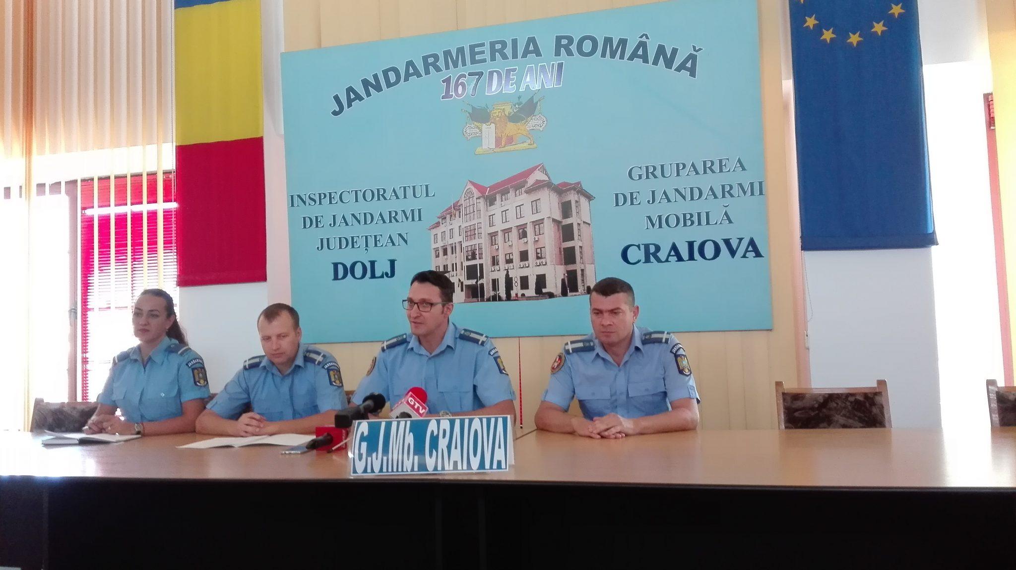 Conducere nouă la Gruparea de Jandarmi Craiova