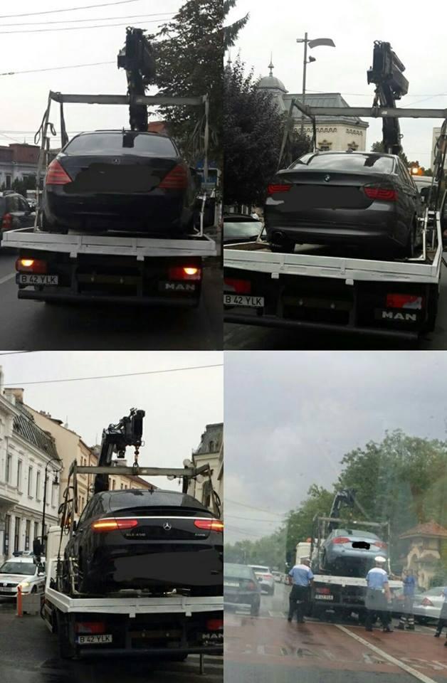 Adio parcări nesimțite! RAT Craiova a început ridicarea mașinilor