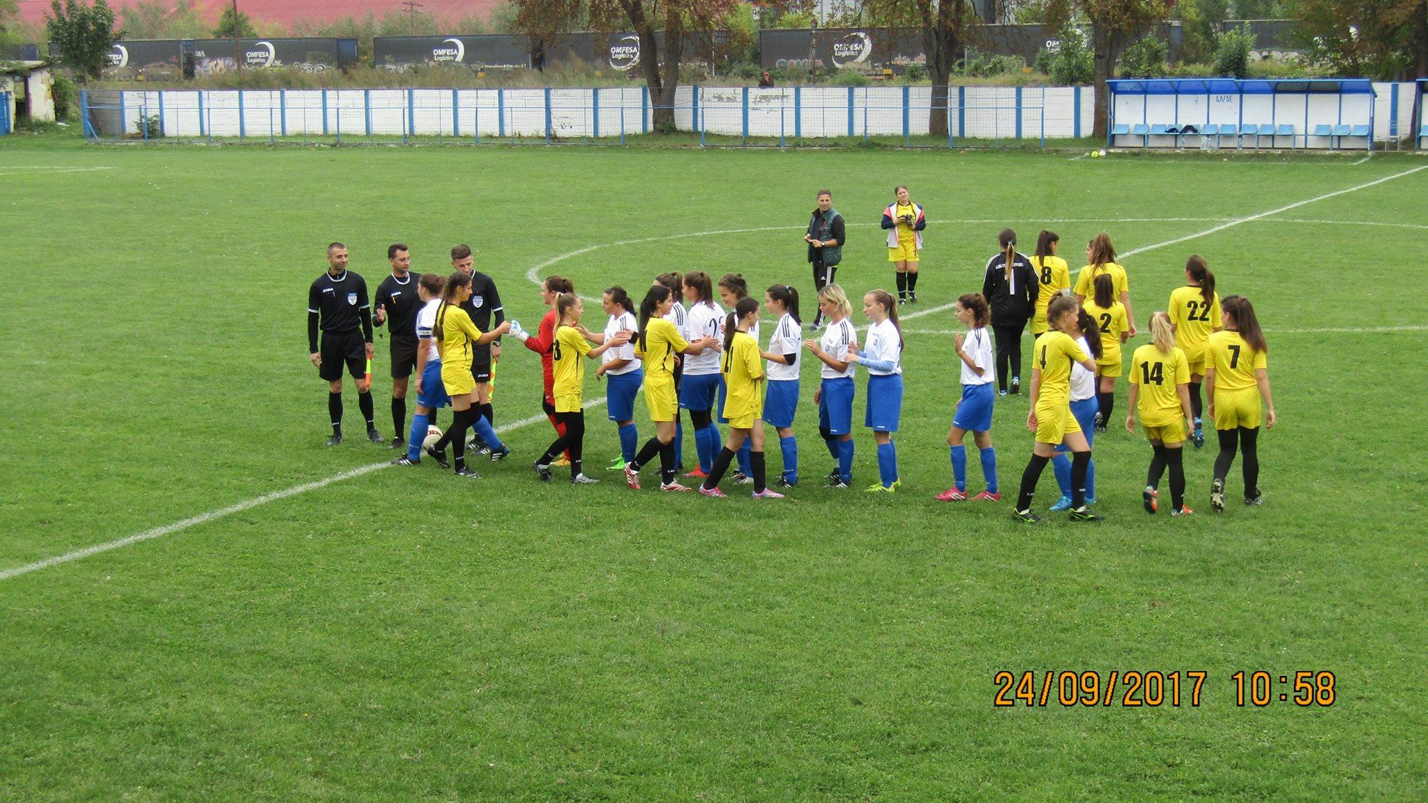 Fotbal feminin/ Eșec drastic în Banat